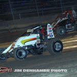 Dallas Hewitt (#18) and Issac Chapple (#52). (Jim Denhamer Photo)