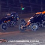 Cody Howard (#10) racing with Mike Galajda #2). (Jim Denhamer photo)