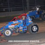 Brian Ruhlman (#49) racing with Dustin Daggett (#85). (Jim Denhamer photo)