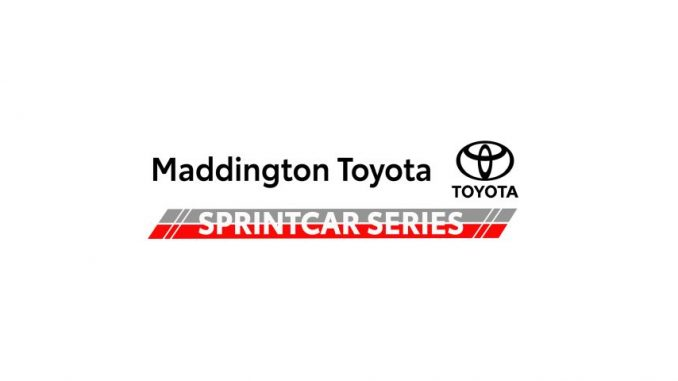 2021 Maddington Toyota Sprint Car Series Top Story Logo