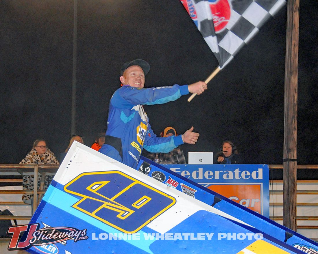 Brad Sweet Celebrate Woo Win I-55 040221