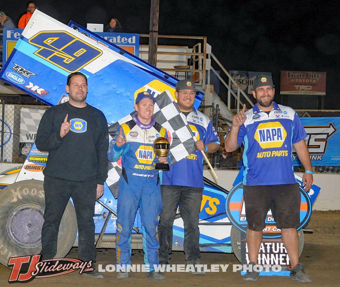 Brad Sweet WoO Win Team I-55 040221