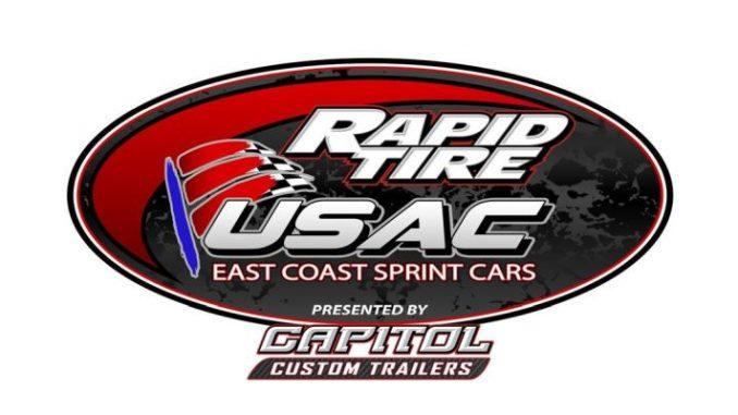USAC East Coast Sprint Car Series Top Story Logo